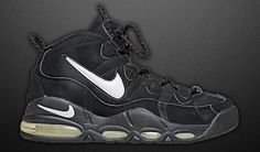 best website 399dc 3ee53 Nike Air Max Uptempo 95 Black 90s Basketball Shoes, Tenis Basketball,  Sports Shoes,