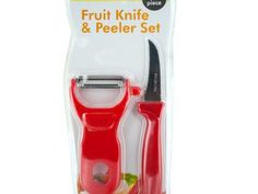 Fruit Knife & Peeler Set