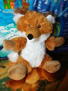 Progessive Plush Phin Red Rust Furry Fox Stuffed White Tail Ears #redfox #foxes #fox #plush #stuffed