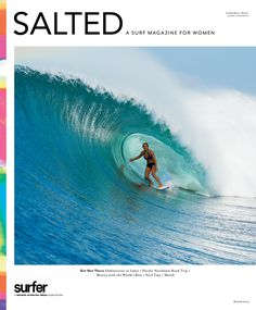 SALTED Issue 3 featuring Carissa Moore on the cover is on newsstands now.
