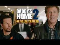 The first trailer to Daddy's Home has been released. The film stars Mark Wahlberg and Will Ferrell, except this time they're not alone! th film will add their fathers, played by Mel Gibson and John Lithgow, [. Will Ferrell, Mark Wahlberg, Paramount Movies, Paramount Pictures, Mel Gibson, 2 Movie, Movie Stars, Transformers, Star Trek