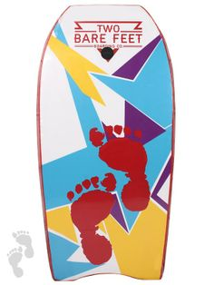 44 Inch Deluxe Bodyboard Red by Two Bare Feet   twobarefeet.co.uk