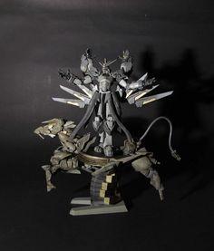 GUNDAM GUY: MG 1/100 God Gundam Manikmaya - Custom Build