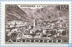 Andorra - French - Landscapes 1944