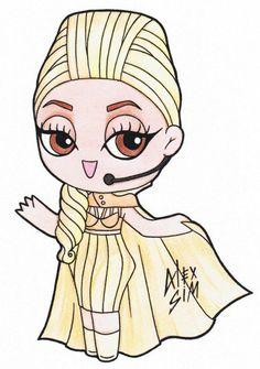 Chibi Lady Gaga