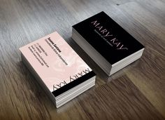Cartão De Visita Mary Kay Business Card
