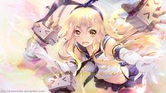 Anime Kantai Collection  Shimakaze (Kancolle) Wallpaper