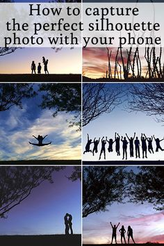 for how to get a perfect silhouette photo using a phone camera! And there's a video showing exactly how to do it!Best tips for how to get a perfect silhouette photo using a phone camera! And there's a video showing exactly how to do it! Dslr Photography Tips, Photography Lessons, Photography Tips For Beginners, Photoshop Photography, Iphone Photography, Mobile Photography, Photography Tutorials, Digital Photography, Amazing Photography