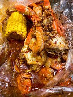 Cajun Seafood Boil, Seafood Broil, Seafood Boil Recipes, Seafood Bake, Seafood Dinner, Cajun Recipes, Sauce Recipes, Fish Recipes, Cooking Recipes