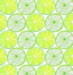 Jocelyn Proust Designs, pattern design, hand painted tiles | Luscious Limes