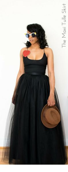 17 fantastiche immagini su Black tulle skirt outfit  c30fc988d19
