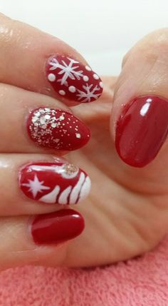 VslNails: christmas season! Seasons, Nails, Christmas, Beauty, Nail Art, Finger Nails, Xmas, Ongles, Seasons Of The Year