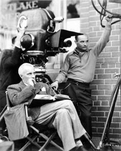 Howard Hawks filming Bringing Up Baby, a flop on its original release in 1938, it was about 30 years ahead of its time. Through cable, video and dvd, and downloads it is now universally acknowledged as a classic.