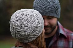 Ravelry: father cables pattern by Veronika Jobe--just cast on in YOTH Father yarn (which is seriously cushy, fabulous yarn) Knitting Patterns Free, Hand Knitting, Crochet Patterns, Free Pattern, Hat Patterns, Knit Or Crochet, Crochet Hats, Cable Knit Hat, How To Purl Knit