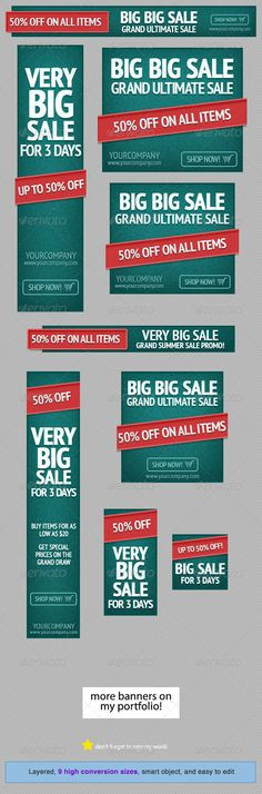 Green Event - Web Banner Design Template PSD | Buy and Download: http://graphicriver.net/item/green-event-web-banner-design-template/4680732?WT.ac=category_thumb&WT.z_author=admiral_adictus&ref=ksioks