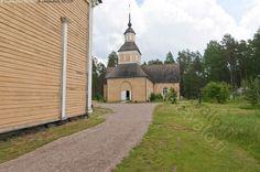 Paltaniemi wooden church, Kainuu county, northeastern Finland | Paltaniemen kuvakirkko - Paltaniemen kajaani kainuu