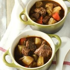 HIT! Irish Beef Stew (Slow Cooker) loved the complexity of the sauce. Strong Guinness flavor. When serving added a spoonful of sour cream and a dash of Frank's hot sauce. Awesome comfort food and makes a huge pot. Might want to half it if only two people.