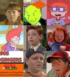 Who is the best 90's ginger? duh. Chucky Finster