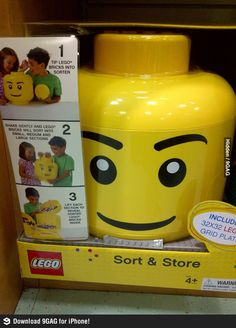 Damn you LEGO, where was this 30 years ago?