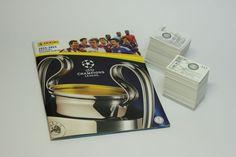 Original Panini Uefa Champions League 2014-2015 complete set of stickers + album