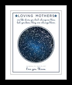 Mom From Son Mothers Day Gift For Gifts Personalized Birthday Wedding In Law Long Distance