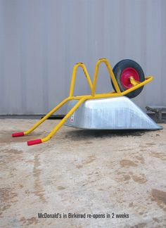 McDonald's in Birkerod re-opens in 2 weeks.