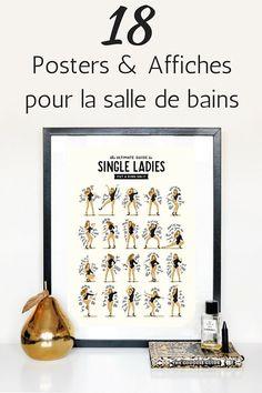 18 Posters & Affiches Pour La Salle De Bains !