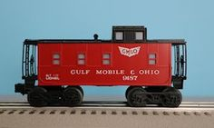 Lionel 6-9187 Gulf, Mobile & Ohio Square Window Caboose