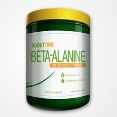For our Athletes supplementing with Beta Alanine. www.TryAboutTime.com