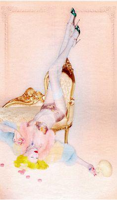 Karlie Kloss | Nick Knight | W October 2012 | SweetEscape - 3 Sensual Fashion Editorials | Art Exhibits - Anne of Carversville Women's News