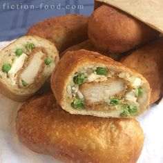 Fiction-Food Café: Katsudon Pirozhki | Yuri!!! On Ice