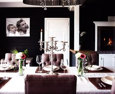 Double Crown In Dining Room And Paneling Madison House