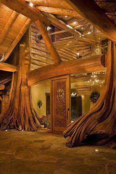 Entrance, Tree House, British Columbia