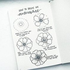 Flower doodles are beautiful and add creative flaire to literally any bullet journal! Thankfully my friend Liz at @bonjournal_ on Instagram shows they are easy to draw and provides tons of ideas and inspiration with her flower doodle tutorial posts. Make your bujo super pretty!