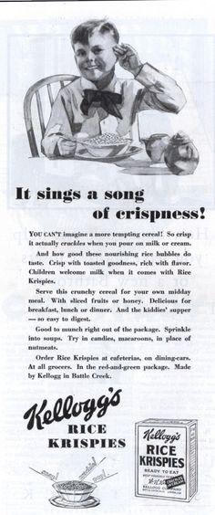 Kellogg's Rice Krispies.