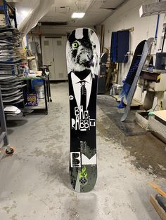 Custom Snowboard for Bryce.