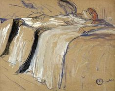 Woman lying on her Back - Lassitude, study for 'Elles', 1896 | Social Studies, The Arts | Image | PBS LearningMedia