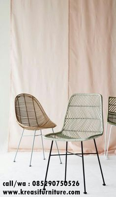 35 Rattan Chair Design Ideas For Dining Room Rattan Armchair, Rattan Dining Chairs, Rattan Furniture, Home Furniture, Outdoor Chairs, Modern Furniture, Furniture Design, Lounge Chairs, Dining Room