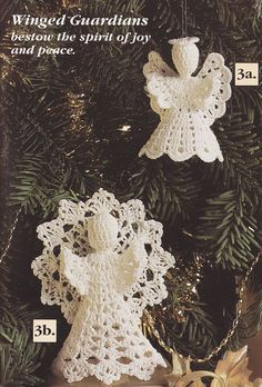 Angel Crochet Patterns. The type of stuff my Gramma would make for Christmas. Hopefully I will have some whipped up for next Christmas.