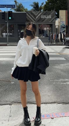 Edgy Outfits, Teen Fashion Outfits, Mode Outfits, Cute Casual Outfits, Look Fashion, Fall Outfits, Girl Fashion, Summer Outfits, Mein Style