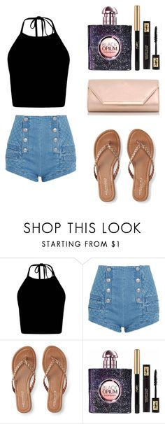 """""""Spring Style🌻💕"""" by fourth-fashion ❤ liked on Polyvore featuring Pierre Balmain, Aéropostale, Yves Saint Laurent and Dorothy Perkins"""