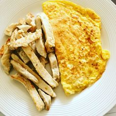 Lunch is 2 egg omelette with some chicken #lowcarb #fooddiary #foodblogger #highprotein #weightloss #weightlossjourney #weightwatchers #slimmingworlduk #slimmingworld #summerscoming #summerbodyinprogress #healthyfood #healthychoices #healthylifestyle #healthyeating #instagood #instafit #instafood #fitness #fitfam #gymlife #strongnotskinny #girlswholift #healthyrecipes #foodinspo by hannah_h_journey