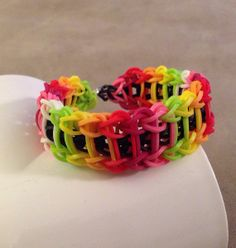 Rainbow loom Ladder Design