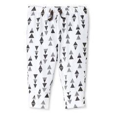 Baby Boys' Triangle Pant White  - Circo�