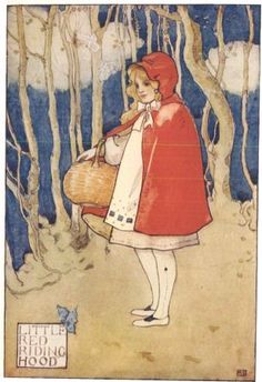 Little Red Riding Hood.  Pinned by www.mygrowingtraditions.com