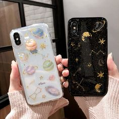 Details about Cute Planet Bling Glitter Soft Gel Case Cover for Samsung Galaxy edge Protect your from dust, scratching and shock. Cute Cases, Cute Phone Cases, Diy Phone Case, Iphone Phone Cases, Galaxy S8 Phone Cases, Phone Cover, Capas Iphone 6, Aesthetic Phone Case, Accessoires Iphone