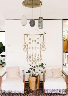Atelier Doré Modern Macrame, Modern Bohemian, Bohemian House, Living Room  Furniture, Living