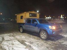 micro-cabin truck camper