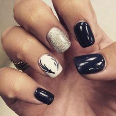 Nail Art Designs, Pretty Nail Designs, Winter Nail Designs, Pretty Nail Art, Simple Nail Designs, Nails Design, Winter Nail Art, Winter Nails, Summer Nails