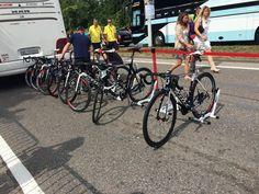 hey @feedbacksports saw your Rakks at a big bike thing going on in Seraing, Belgium yesterday! #everywhere